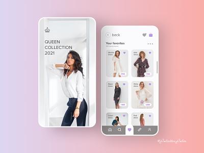 Design Favorites (E-commerce) #DailyUI #day44 #044 web design web clothes shop e commerce website e commerce mobile design mobile app design favorites favorites 044 day44 dailyuichallenge dailyui ux ui design