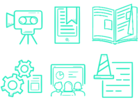 Education and Document Icons