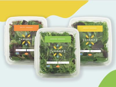 Crisply: vertically farmed produce