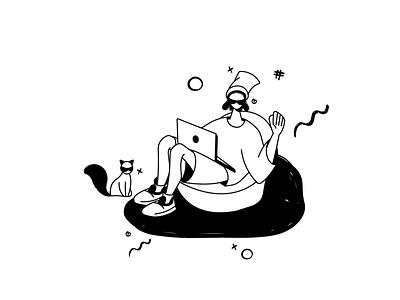Authorization Illustration for Dvlp illustrator vector design characterdesign graphicdesign illustration dribbble