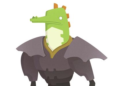 Reptilian Forgemaster (work in progress)