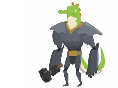 Reptilian Forgemaster