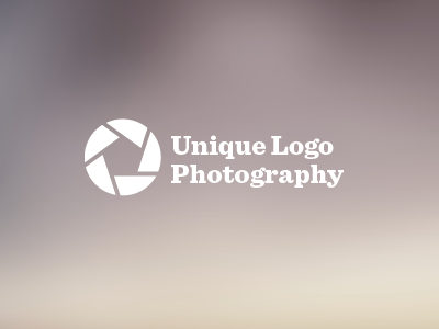 Most creative photography logo ever.