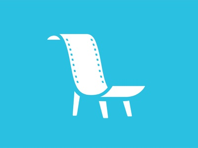 Actor Lounge actor lounge logo chair vector simple