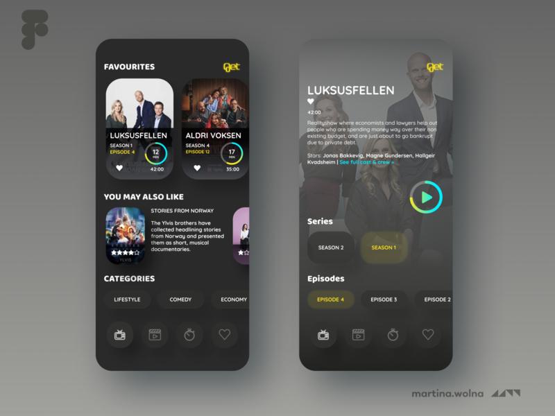 Get TV app redesign