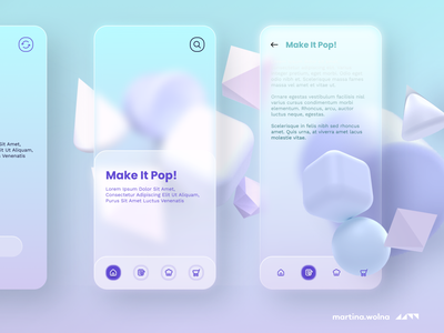 Glassmorphism - trend for 2021 #glass temple freebies design minimalist figma app soft 2021 trends glassmorphism glass neumorphic ui