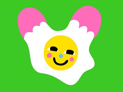 Egg Snapchat Sticker face character design vector sticker stickers snapchat kimberly mar illustration eggs