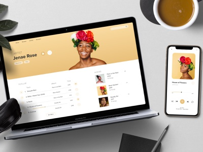 UI Challenge // Music Player mobile app app design dailyuichallenge dailyui ui designer ui design ui