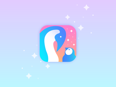 Daily UI Challenge  005 kids baby penguin storybook appicon dailyui 005 daily 100 challenge dailyuichallenge