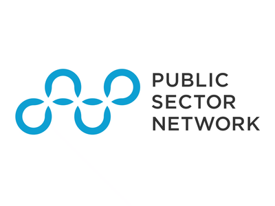 Public Sector Network Animated Logo typography logo branding icon vector animation design