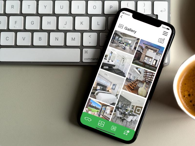 Gallery View for Digital Handover Kit App icon ui design