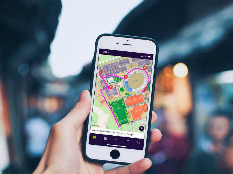 Sydney Royal Easter Show - Way Finding ux app ui design