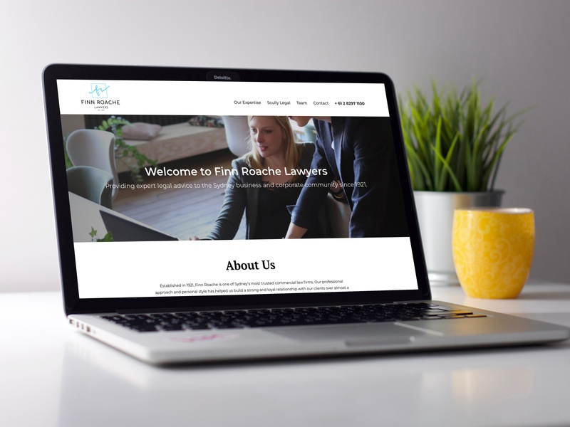 Finn Roache Website branding website web ux ui design