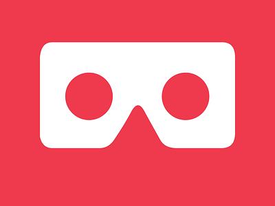 App Icon - VR APP minimal vector logo illustration icon ui design