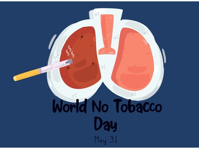 World No Tobacco Day Illustration (3) health smoking awareness anti cigarette vector illustration day tobacco world