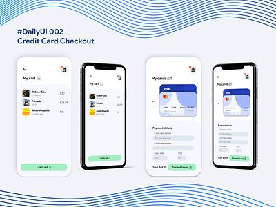 #DailyUI 002 Credit Card Checkout
