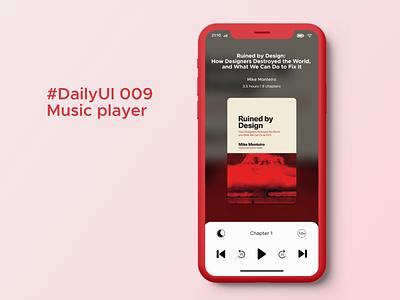 #DailyUI 009 Music Player app ux ui design