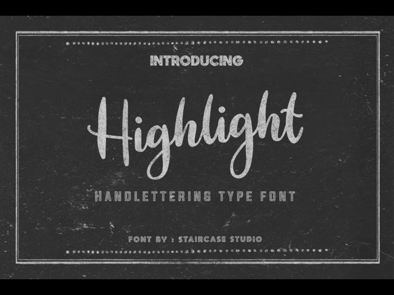 Highlight Handlettering Font fonts. decorative font design modern landmark typeface font type invitation wedding font logotype font branding handwritten script font script handlettering handlettering font highlight