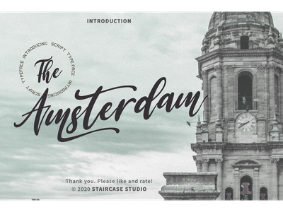 The Amsterdam Font wedding font design invitation logotype branding fonts font signature typeface handwritten script the amsterdam