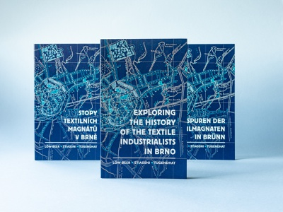 Exploring the History of Textile Industrialists jewish typography design typography typographic typesetting editorial design book design book cover product design print design paper design
