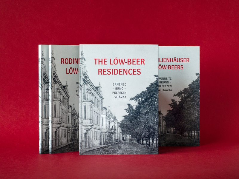 The Löw-Beer Residences history 1930s architecture book design book cover typesetting typography editorial design paper design print design