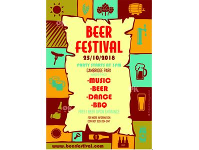 Beer festival Visual olenakomyshna pivo poster art poster design festival logo festival poster plakat poster beer festival beer