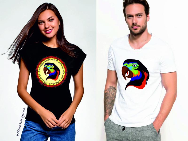 Parrot ARA Visual olenakomyshna parrot art parrot logo wacaw print design colorbird birds bird print parrots parrot