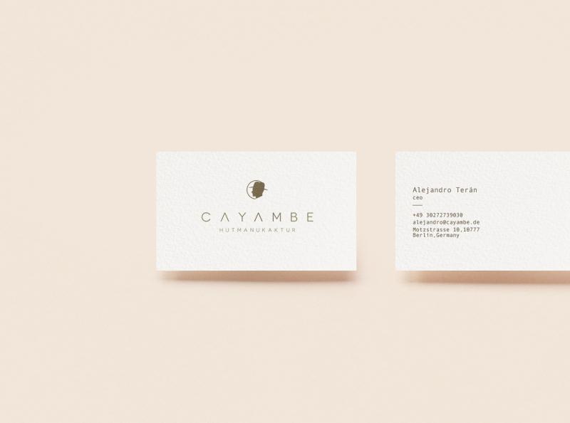 Cayambe Branding