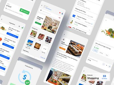Shopping Ecommerce - Dasun eWallet App finance app ux design ui design mobile app design banking payment digital wallet ewallet wallet finance