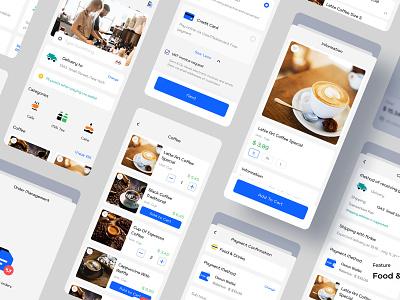 Food Dellivery - Dasun Digital Wallet delivery app food and drink ux design ui design mobile app design banking payment digital wallet ewallet wallet finance