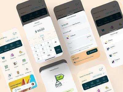 Gepay eWallet - Withdraw bank finance app ux design ui design mobile app design banking payment digital wallet ewallet wallet finance