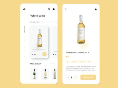 Wine app wine website design mobile ui mobile app design graphic design web design web uiux ui art 2020 app mobile