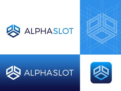 ALPHASLOT design logo