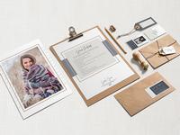 Sarah Jane Photography Collateral Design