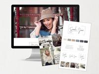 Sarah Jane Photography Brand + Website Design