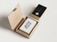 Paper Chase Interiors Business Card Design