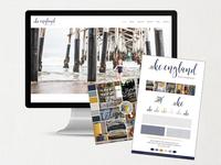 KC England Photography Brand + Website Design