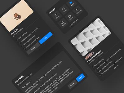 Daily UI 65. Notes Widgets uxui webdesign ux ux  ui ux design uxdesign ui  ux uiux ui design uidesign ui