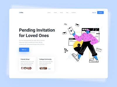 Daily UI 78. Pending Invitation dailyui 2021 trend trendy popular design trending trends trend popular webdesigner uxui webdesign ux ux  ui ux design uxdesign ui  ux uiux ui design uidesign ui