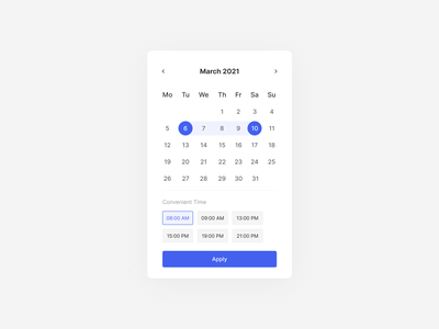Daily UI 80. Date Picker webdesign ux ux  ui ux design uxdesign ui  ux uiux ui design uidesign ui