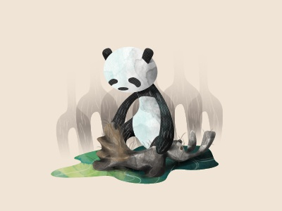 The Panda Turned Hare