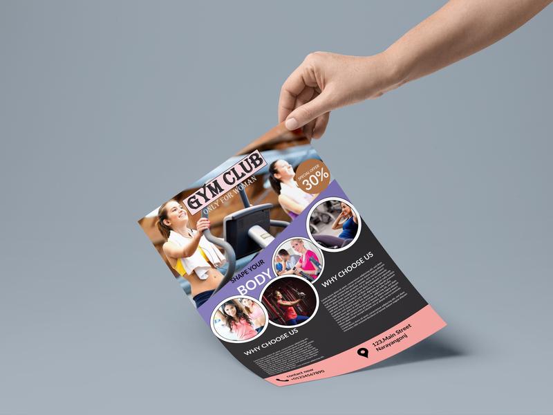 A4 Paper PSD MockUp 4