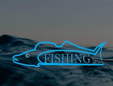fish 01 01 01 zitherena illustration typography design logo