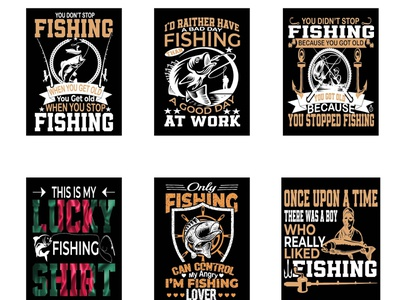 Fish T-Shirt Design typography design t-shirt design