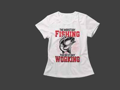 fish t-shirt design vector typography design t-shirt design