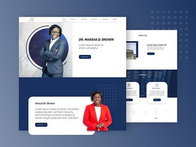 Lawyer website UI/UX design legal services lawyer web design website design ux design ui design
