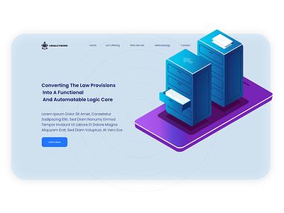 legal service website UI/UX design consulting legal services ui  ux design web design website design ux design ui design