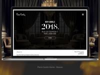 Pierre Cardin Home Kosovo - Website