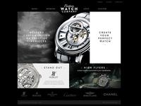 Custom Watch Company Website