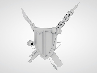 3D version of Coat Of Arms
